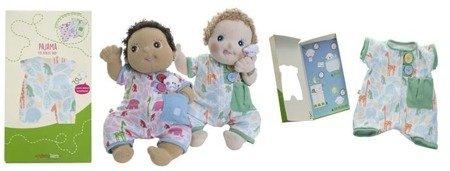 Różowa piżama dla lalki RubensBaby, Rubens Barn