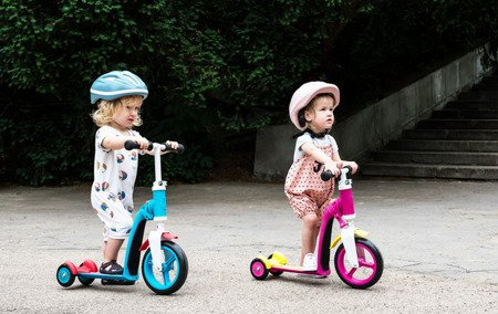 SCOOTANDRIDE Highwaybaby PLUS 2w1 hulajnoga i rowerek 1+ Pink