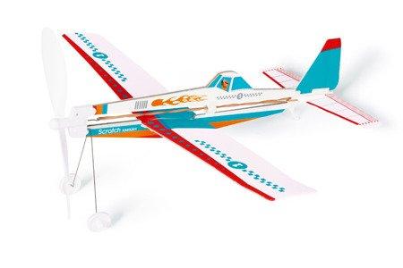 Samolot Niebieski, Scratch