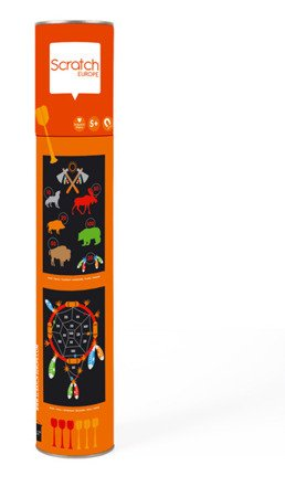 Scratch, Rzutki magnetyczne Indianie, rozmiar L