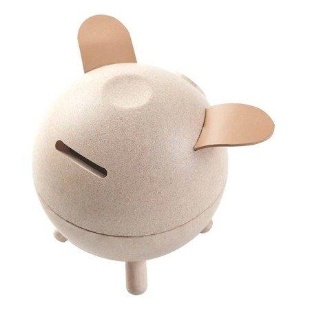 Skarbonka świnka, kolor naturalny   Plan Toys®
