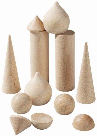 Wieżowe drewniane klocki