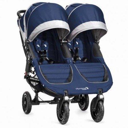 Wózek CITY MINI DOUBLE GT COBALT/GRAY 2002715 Baby Jogger+pałąk