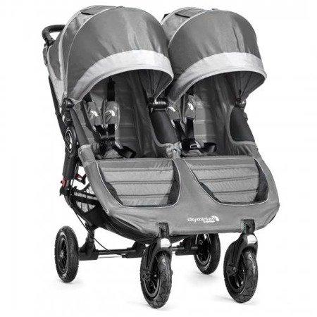 Wózek CITY MINI DOUBLE GT STEEL GRAY 1962899 Baby Jogger+pałąk