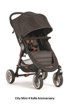 Wózek CITY MINI SINGLE 4W ANNIVERSARY Baby Jogger +pałąk