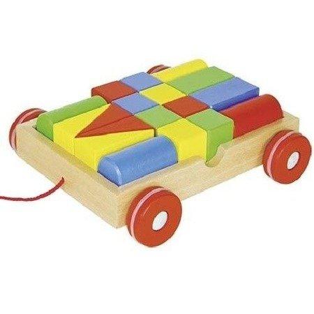 Wózek z klockami, zestaw do zabawy, Goki 58558