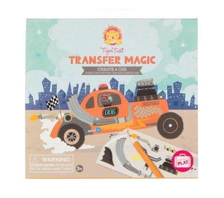 Zdrapywanki Transfer Magic, Stwórz Samochód