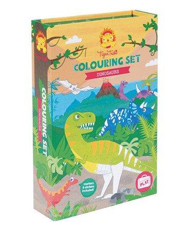 Zestaw Plastyczny: Dinozaury