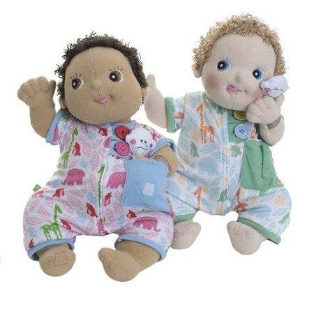 Zielona piżama dla lalek RubensBaby, Rubens Barn